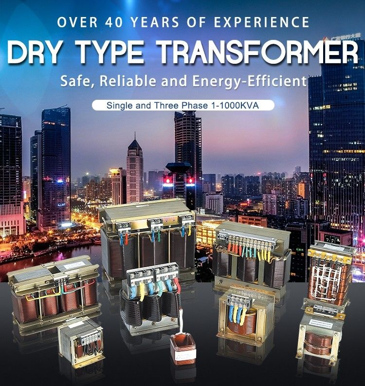 Single And Three Phase Low Voltage Dry Type Transformer 1-1000kva Copper Alumnium